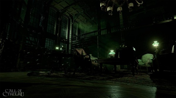 Screenshot Call Of Cthulhu