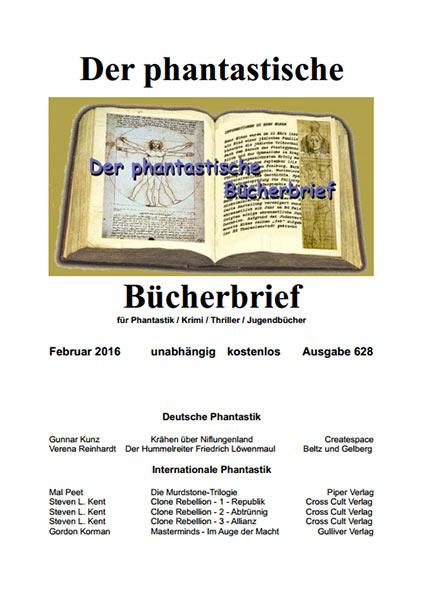 Der PHANTASTISCHE BÜCHERBRIEF 628