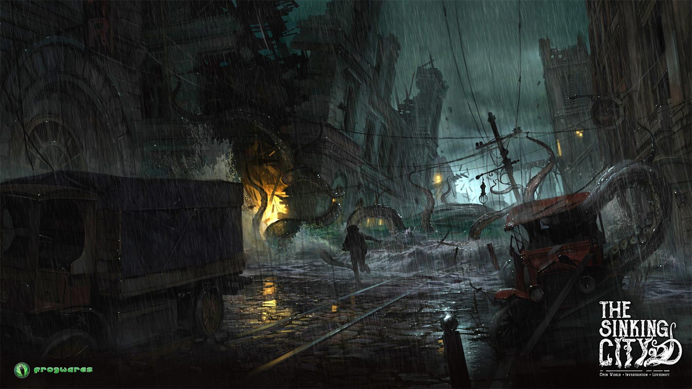 Open World Cthulhu: THE SINKING CITY