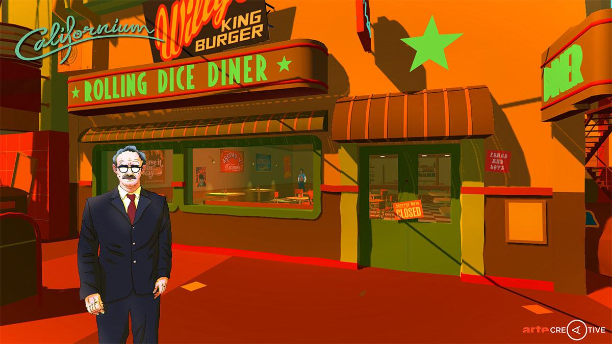 Inspiriert von Philip K. Dick: das Computerspiel CALIFORNIUM