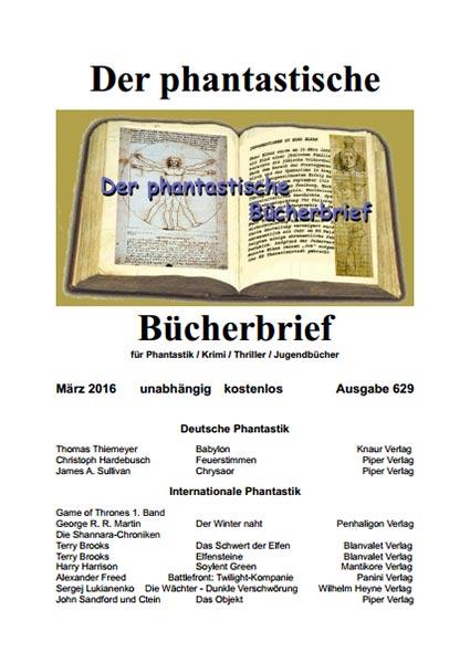 DER PHANTASTISCHE BÜCHERBRIEF 629