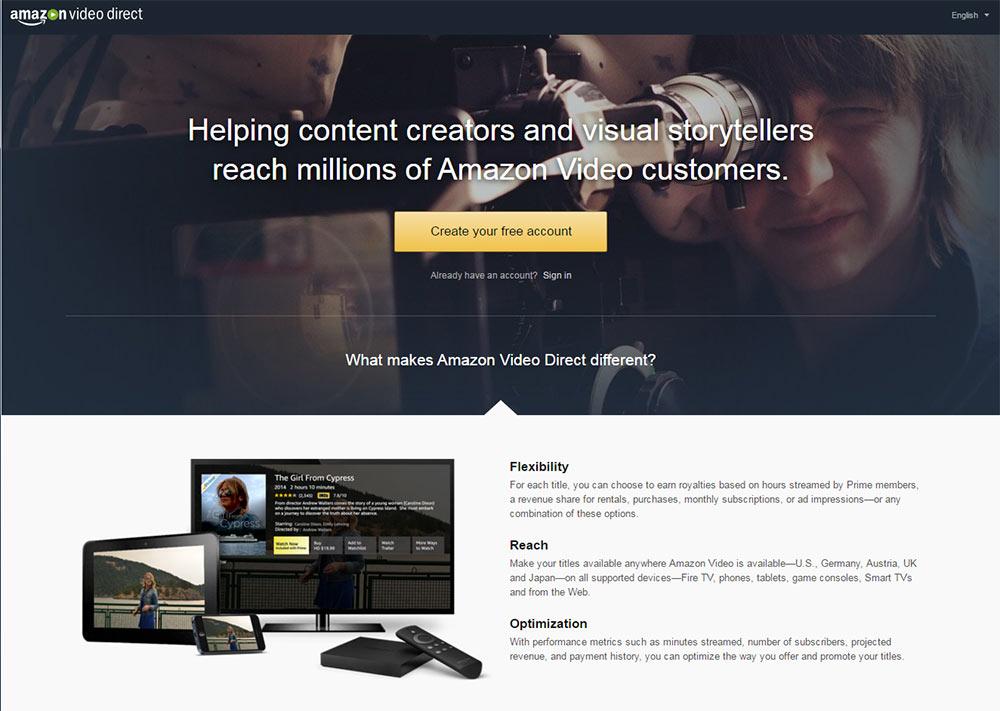Amazon Video Direct: Amazon greift YouTube an