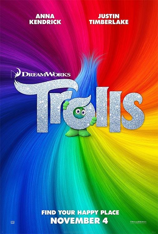 Poster und Trailer: Dreamworks TROLLS