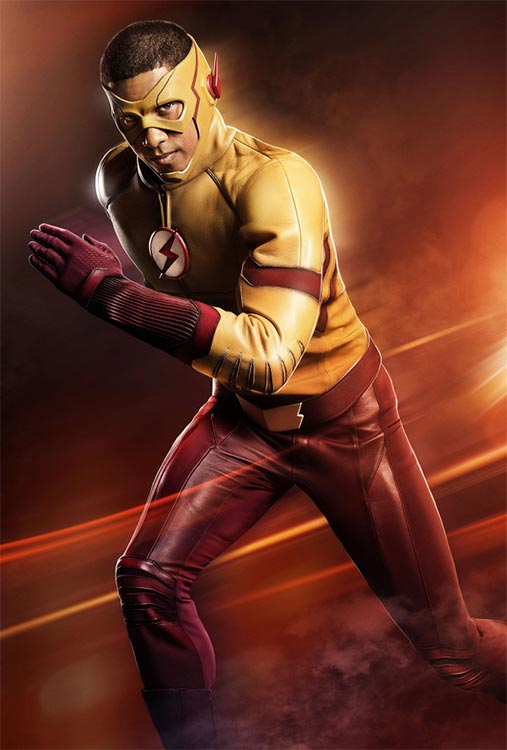 Kieynan Lonsdale ist Kid Flash