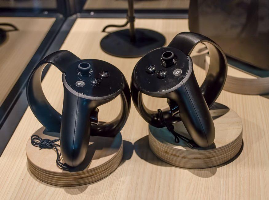 Oculus Tocuh-Controller - nur gucken, nicht anfassen