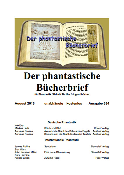 Der PHANTASTISCHE BÜCHERBRIEF 634