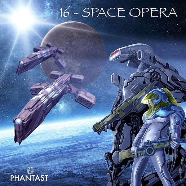 Erschienen: PHANTAST 16 – Space Opera