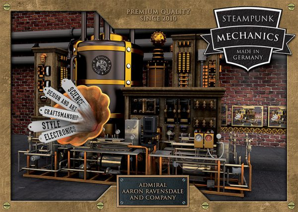 Cover Steampunk Mechanics