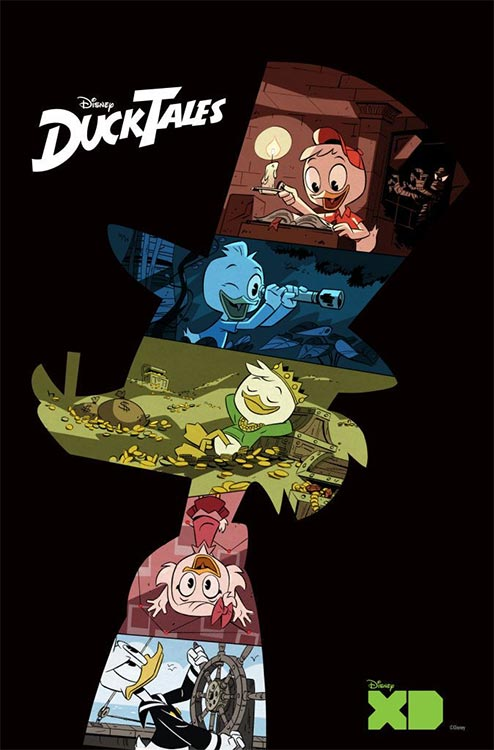 Duck Tales Reboot Poster