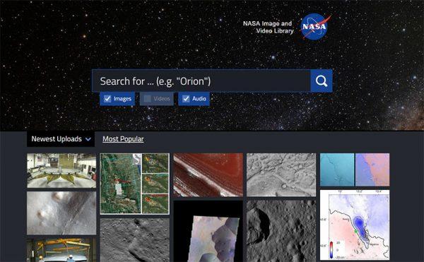 NASA Bildersuche