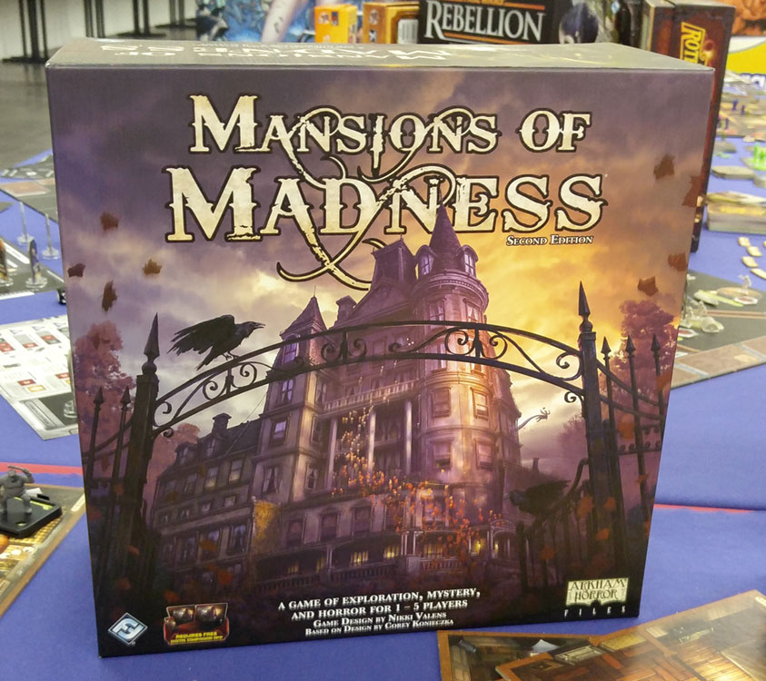 Spiel16: MANSIONS OF MADNESS 2nd Edition – mit App