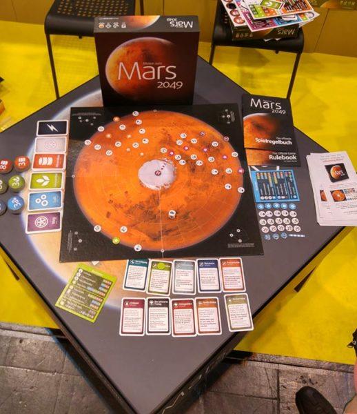 Spielbrett Mars 2049