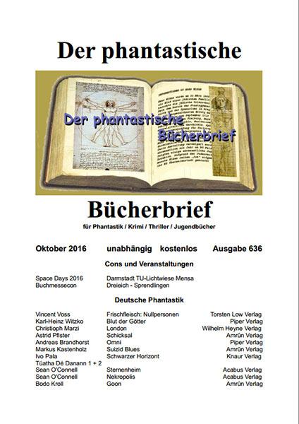 DER PHANTASTISCHE BÜCHERBRIEF 636