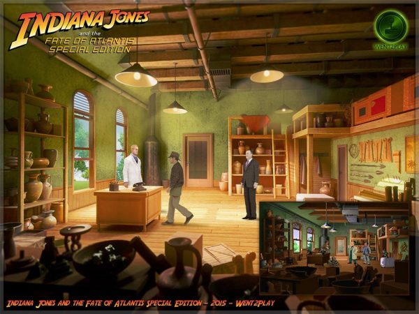 Screenshot INDIANA JONES AND THE FATE OF ATLANTIS Special Edition