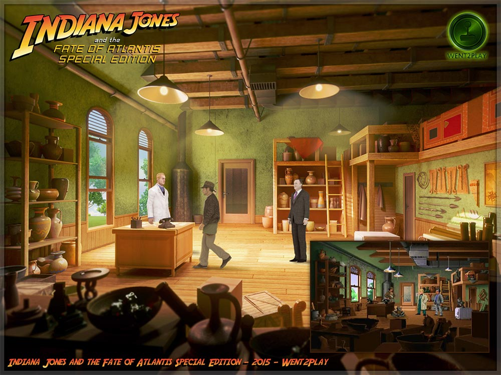 INDIANA JONES AND THE FATE OF ATLANTIS Special Edition: Demoversion