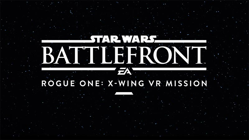 Wahnsinn: ROGUE ONE X-Wing VR Mission