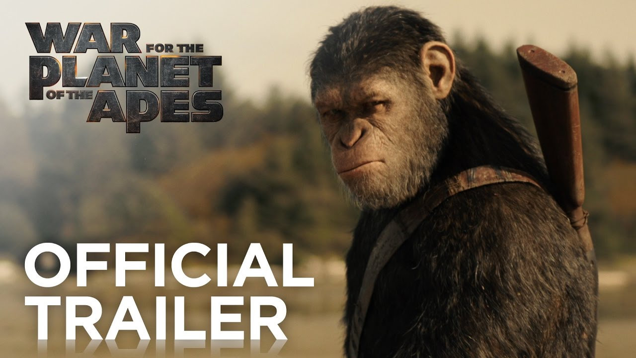 Trailer: WAR FOR THE PLANETS OF THE APES