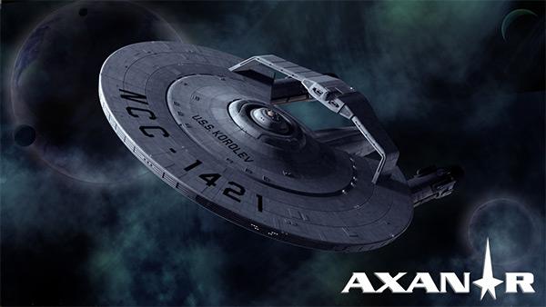 STAR TREK AXANAR knickt ein
