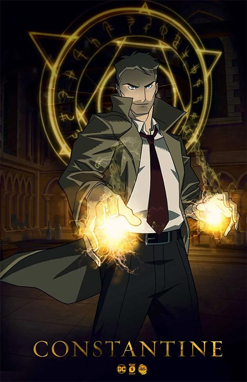 Matt Ryan spricht CONSTANTINE in Animationsserie