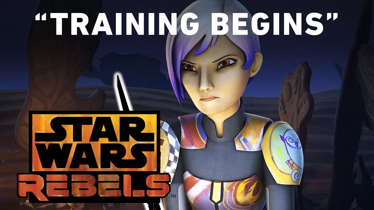 STAR WARS REBELS Preview: Darksaber Training