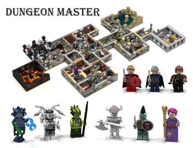 Lego meets DUNGEONS & DRAGONS