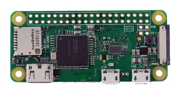 Neu: Raspberry Pi ZeroW