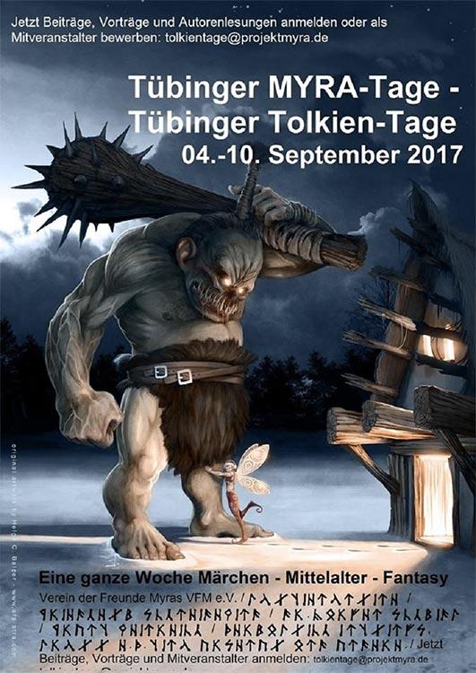 125 Jahre Tolkien: Die Tübinger MYRA-Tage