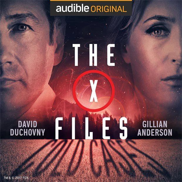 Anderson und Duchovny in X-FILES-Hörspielen bei Audible