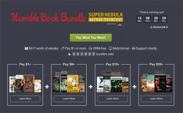 Humble eBook Bundle mit Nebula Award-Gewinnern