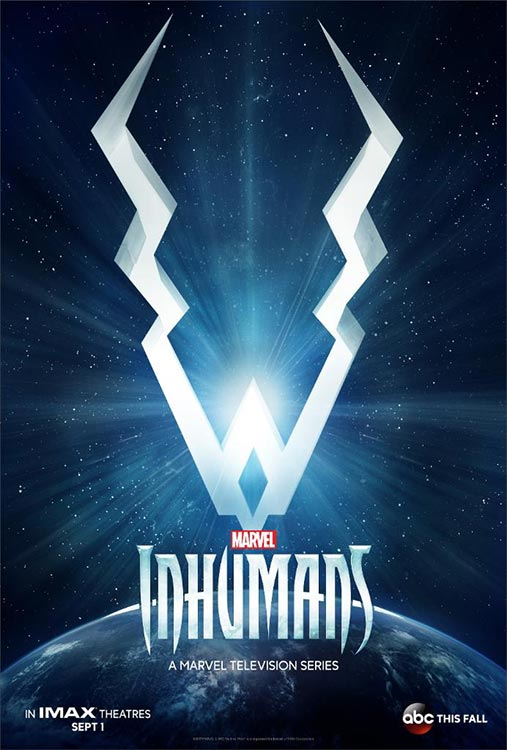 Poster: MARVEL'S INHUMANS