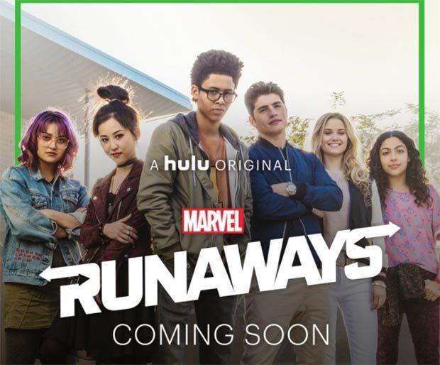 Noch eine Fernsehserie: MARVEL'S RUNAWAYS