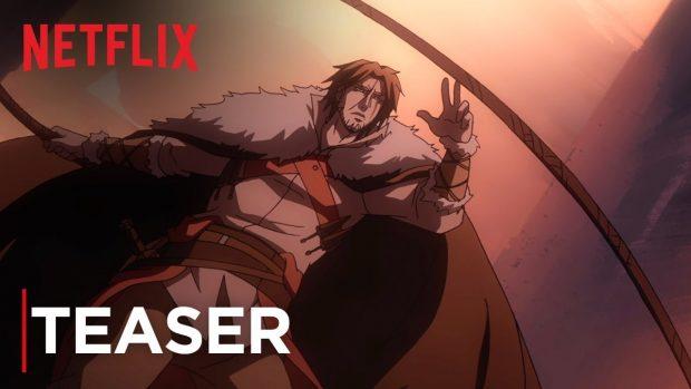 Trailer: CASTLEVANIA als Animé-Serie auf Netflix