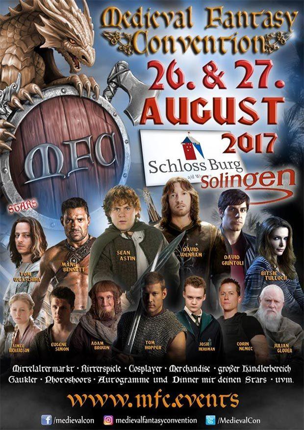 Medieval Fantasy Convention am 26. und 27. August 2017 auf Schloss Burg