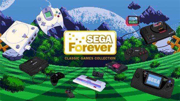 Sega Forever – klassische Spiele auf Mobilgeräten