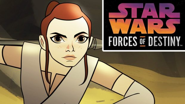 Trailer: STAR WARS – FORCES OF DESTINY