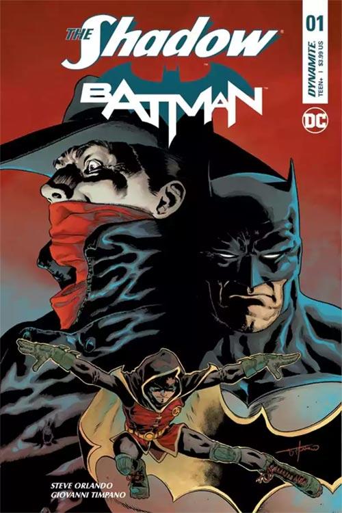 BATMAN und THE SHADOW-Crossover
