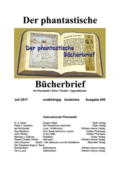 Der PHANTASTISCHE BÜCHERBRIEF 645 und 646
