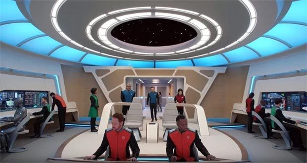 THE ORVILLE startet vor STAR TREK DISCOVERY