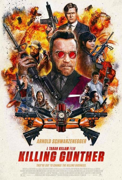 Schwarzenegger in KILLING GUNTHER: Trailer und Poster