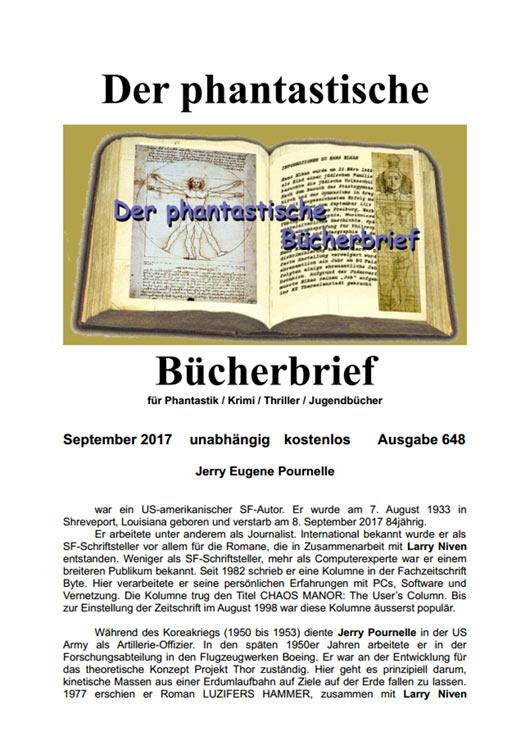 DER PHANTASTISCHE BÜCHERBRIEF 648
