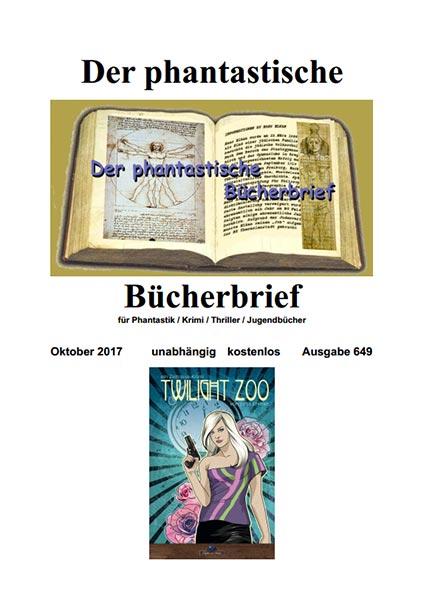 DER PHANTASTISCHE BÜCHERBRIEF 649