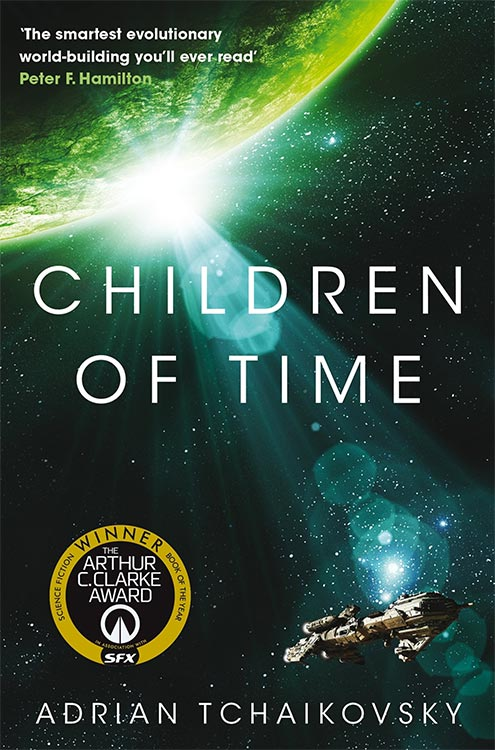 Lesempfehlung: Adrian Tchaikowsky – CHILDREN OF TIME