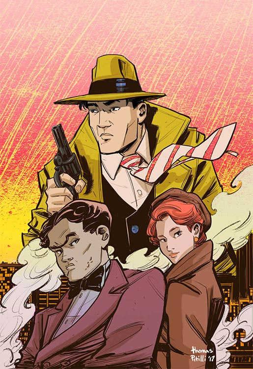 Neue DICK TRACY-Comics in 2018