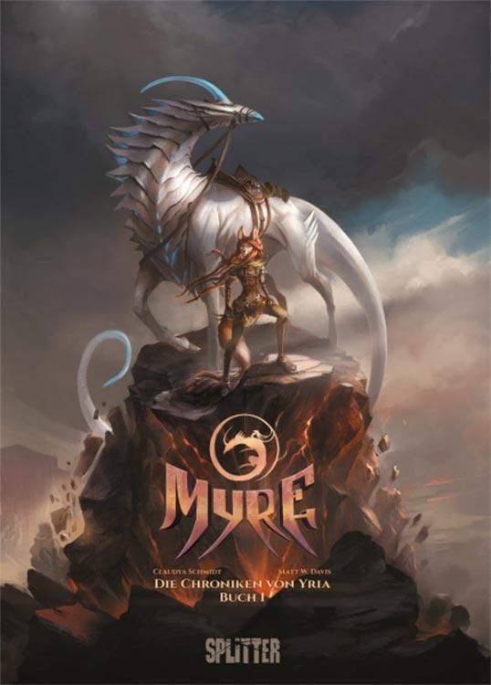 Comic-Neuerscheinung: MYRE – DIE CHRONIKEN VON YRIA Buch1