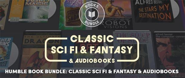 Classic SciFi und Fantasy Hörbücher und eBooks bei Humble Bundle