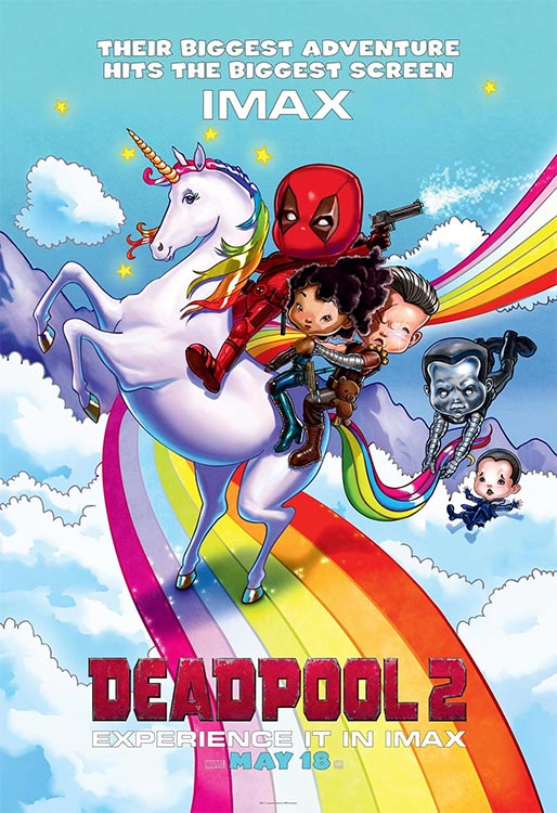Neues Poster: DEADPOOL 2