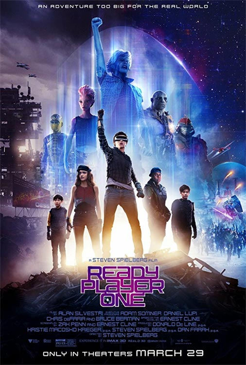 READY PLAYER ONE FTW!