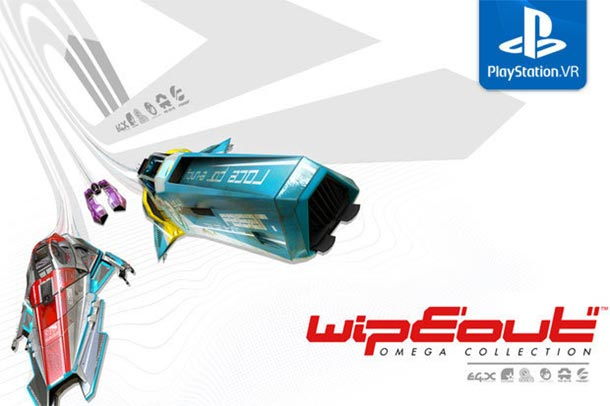 Virtual Reality Update für die WIPEOUT OMEGA COLLECTION