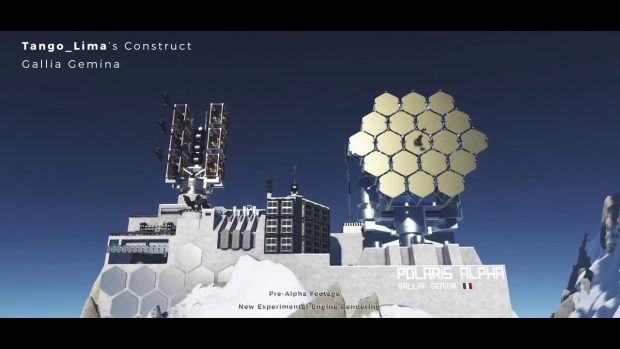 DUAL UNIVERSE Trailer: Community-Made Outposts