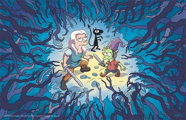 Matt Groenings DISENCHANTMENT startet im August bei Netflix